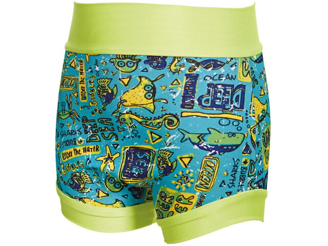Zoggs Deep Sea Swimsure Baby Nappy Blue/Multi